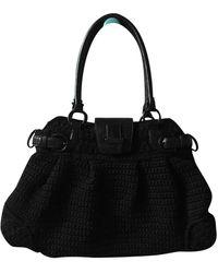 Ferragamo Wolle Handtaschen - Schwarz