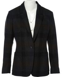 Jil Sander - Anthracite Wool Jacket - Lyst