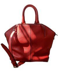 Alexander Wang Emile Leather Handbag - Red