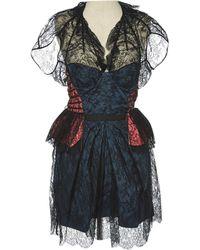 Louis Vuitton - Mini Dress - Lyst