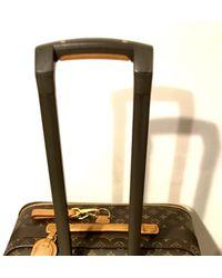 Louis Vuitton Bolsos de viaje en lona marrón Pegase