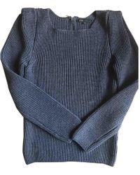 Maje - Wool Jumper - Lyst