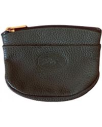 Longchamp Leather Purse - Green