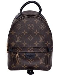 Louis Vuitton Palm Spring Cloth Backpack - Brown
