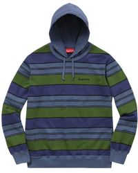Supreme Pullover&Sweatshirt Polyester Blau
