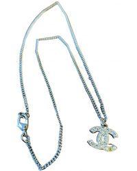 Chanel Cc Necklace - Metallic
