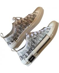 Dior B23 Cloth Low Sneakers - Gray
