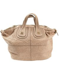 Givenchy Leder Kleine Tasche - Natur