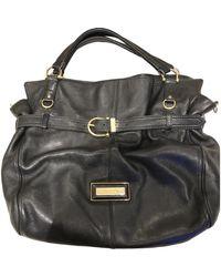 Burberry Leder Handtaschen - Schwarz