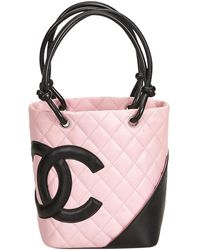 4b1053f86a3453 Chanel Cambon Line Large Tote Bag in Brown - Lyst