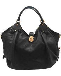 Louis Vuitton Bolso Mahina de Cuero - Negro