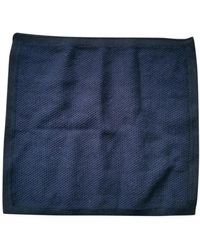 A.P.C. Navy Cotton Small Bag Wallets & Cases - Blue