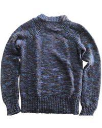 Acne Studios Wolle Pullover - Blau