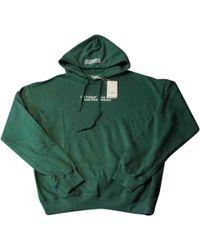 Vetements - Green Cotton Knitwear & Sweatshirts - Lyst