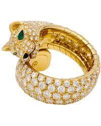 Cartier Panthère Gelbgold Ringe - Mettallic