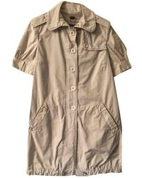 Burberry Trench Coat - Natural