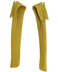 CALVIN KLEIN 205W39NYC Wool Scarf - Yellow