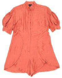 Fendi Other Silk Jumpsuits - Multicolor