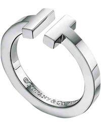 Tiffany & Co. Tiffany T Silver Ring - Multicolor