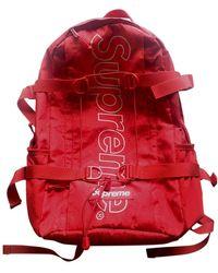 Supreme Red Cloth Bag