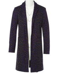 Christopher Kane Purple Wool