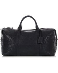 Mulberry Blue Leather Travel Bag