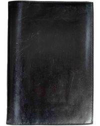 Delvaux Leather Purse - Black
