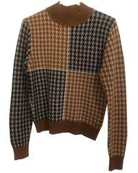 Hermès Beige Cashmere Knitwear - Multicolour