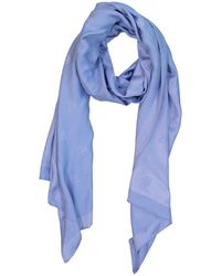 Ralph Lauren Collection - Pre-owned Blue Silk Scarves - Lyst