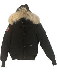 Canada Goose Chilliwack Black Synthetic Coat