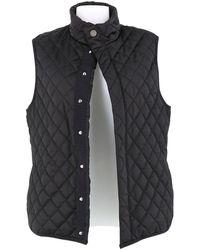 Chanel Vest en Synthétique Noir
