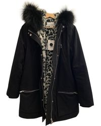 Claudie Pierlot Black Fur Coat