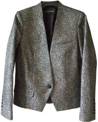 Zadig & Voltaire - Pre-owned Metallic Polyester Jackets - Lyst
