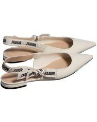 Dior J'a Lackleder Ballerinas - Weiß