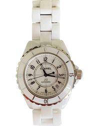 Chanel Reloj J12 Automatique de Cerámica - Blanco