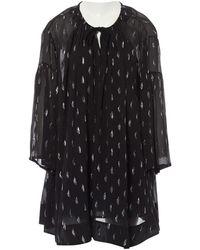 IRO - Black Silk Dress - Lyst
