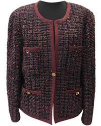 Chanel Tweed Kurze jacke - Mehrfarbig