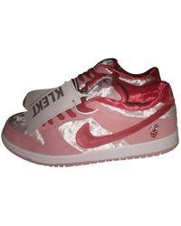 Nike SB Dunk Niedrige turnschuhe - Pink