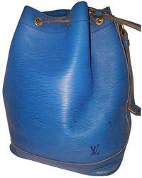 Louis Vuitton Noé Leder Cross body tashe - Blau