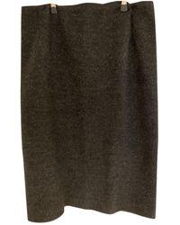 Bottega Veneta Wool Mid-length Skirt - Multicolour