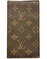 Louis Vuitton Marroquinería de Lona - Marrón