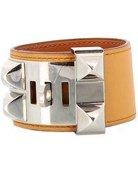 Hermès Collier De Chien Leather Bracelet - Multicolour
