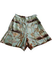 Hermès - Silk Mini Short - Lyst