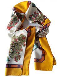 Hermès Maxi twilly Seide Schals - Gelb
