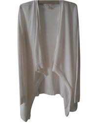 Michael Kors White Polyester Knitwear