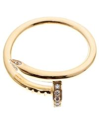 Cartier Juste Un Clou Other Yellow Gold Rings - Metallic