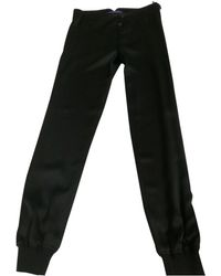 Ralph Lauren Collection - Pre-owned Silk Trousers - Lyst