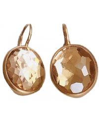 Pomellato Narcisco Pink Gold Earrings - Brown
