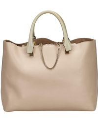 Chloé - Pre-owned Baylee Leather Tote - Lyst