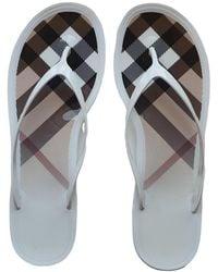 Burberry Flip Flops - Multicolour